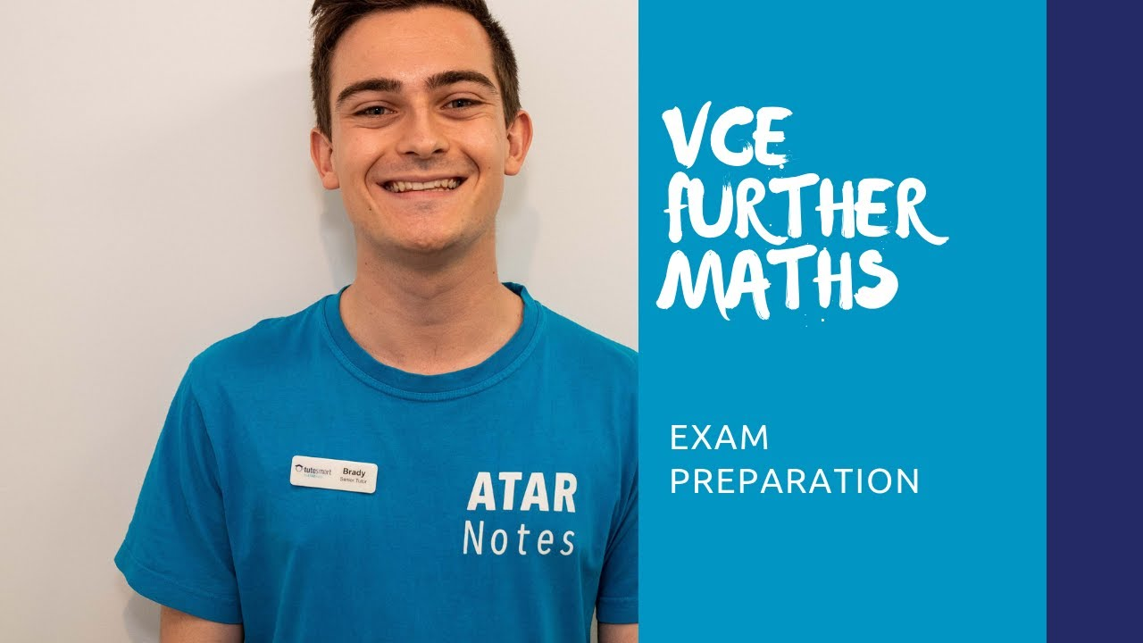 VCE Further Maths | Exam Preparation