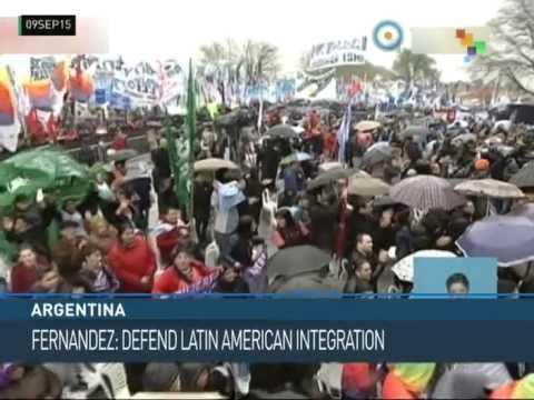 Argentina – Fernandez, Lula y Scioli Inaugurate Health Initiative
