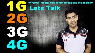 Gambar cover 1G 2G 3G 4G | Lets talk about wireless mobile telecommunications technology (In Hindi)