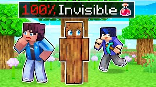 100% Invisible CHEATS In Minecraft Hide N' Seek!
