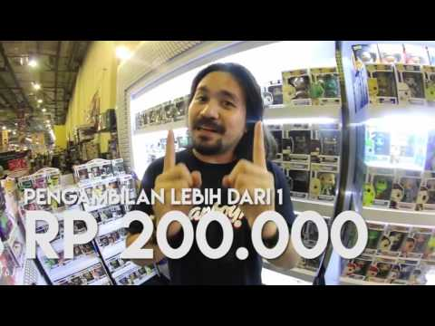 FANBOY CHANNEL with JURAGANMAINAN COM @The 13th Jakarta Toys