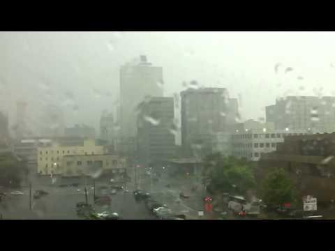 Downtown Memphis lightning