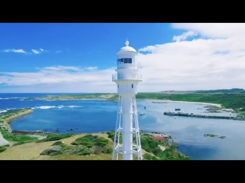 King Island, Tasmania Australia drone video