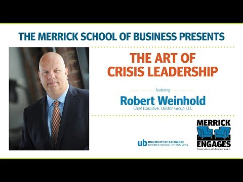 Merrick Engages: The Art of Crisis Leadership with Robert Weinhold