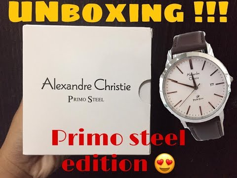UNBOXING & REVIEW Alexandre Christie 1007 Edisi PRIMO STEEL || AC 1007