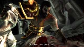 (PS3) God of War: Ghost of Sparta - God Mode Part 20 (Kratos Vs. Deimos Vs. Thanatos)