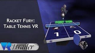 Racket Fury: Table Tennis VR - Gear VR Gameplay