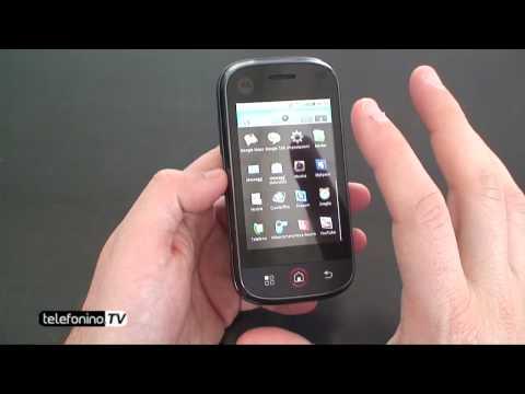 Motorola Dext videoreview da Telefonino.net