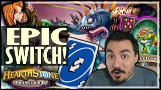 NOW THAT'S A PROPER MURLOC SWITCH! - Hearthstone Battlegrounds