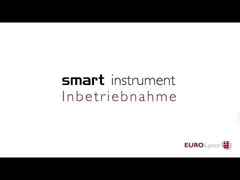 Inbetriebnahme eines Instruments der Eurolyser smart Serie