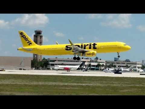 Plane Spotting Fort Lauderdale International Airport!