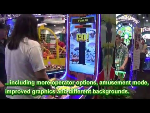 Amusement Expo 2016 Booths Part 1 - New Arcade Games