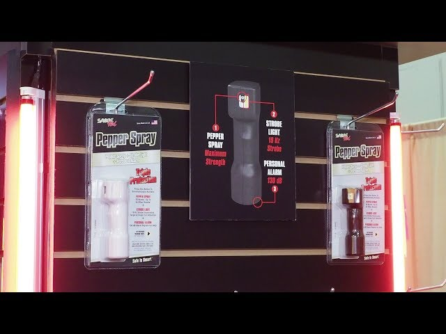 Pepper Spray Innovation from Sabre – SHOT Show 2018