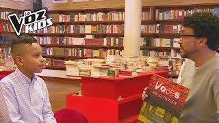 Los libros unieron a Andrés Cepeda y a Santiago | La Voz Kids Colombia 2018
