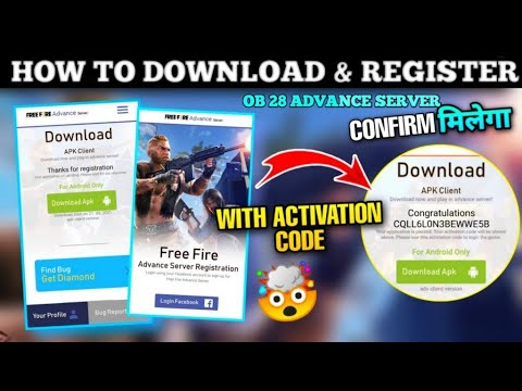 How to Download and Register Free Fire Advance Server || How to Download Free Fire Advance Server