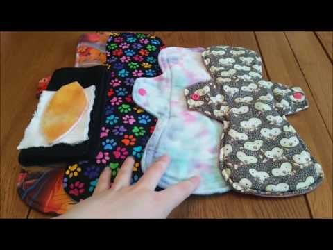 Using Cloth Menstrual Pads When You Have Super Heavy Flow Periods