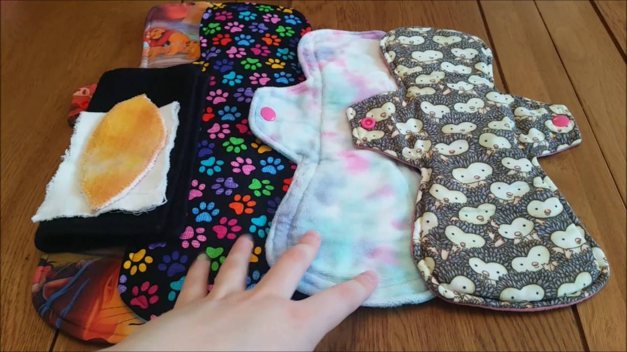 using cloth menstrual pads when you have super heavy flow