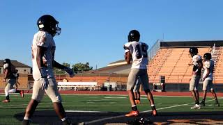 Pittsburg Pirates football practice 8 01 2018