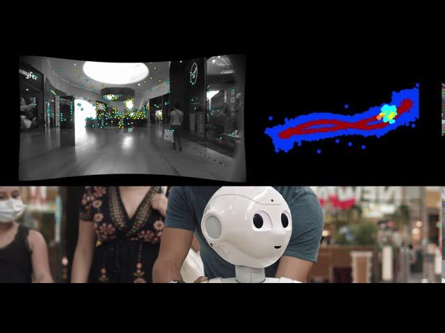 Navigation software update for Pepper: tested in a Parisian Mall - SoftBank Robotics