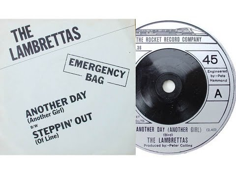 The Lambrettas - Another day Another girl/Page 3 (On screen lyrics)