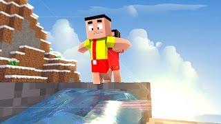 Minecraft: - MÔNICA TOY - MÔNICA DEU UM BANHO NO CASCÃO!?!