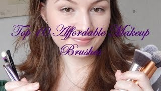 Top 10 Affordable Makeup Brushes Thumbnail