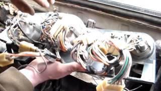 Проводка ВАЗ,передний пучок салон.VAZ wiring, front beam salon.