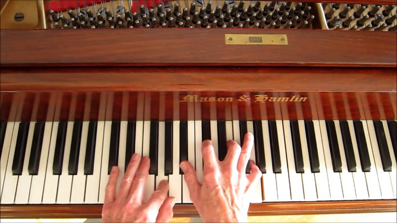 "Fly Me To The Moon"", Locked Hands Technique, Piano Tutorial ..."