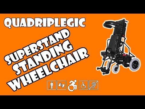 Best Standing Wheelchair - Superstand   Quadriplegic (C5,C6,C7)
