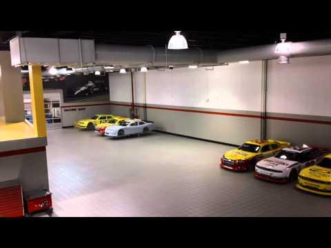 www.MOTRface.com Penske Racing Facility Mooresville NC - video 2 of 2