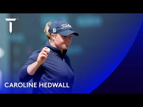 Caroline Hedwall co-leads in Sweden | Round 3 | 2021 Scandinavian Mixed