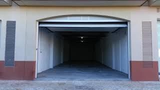 Apertura exterior de puerta de garaje seccional Peñiscola