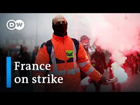 National strike halts
