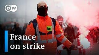 National strike halts France | DW News