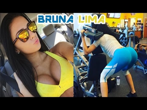 BRUNA LIMA - Fitness Model - Butt Sculpting Exercises
