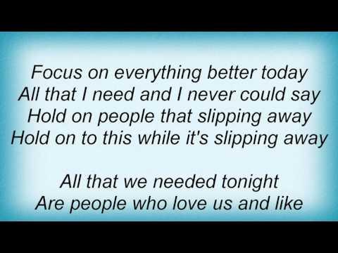 Moby - Slipping Away Lyrics