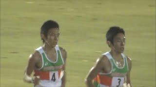 平成国際大学競技会 2014.11.29 10000m3組