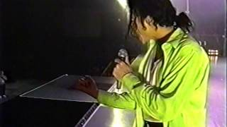 Michael Jackson - Beat It (Dangerous Tour Rehearsals)