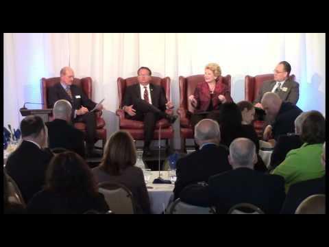 2016 International Business Breakfast | Senators Debbie Stabenow and Gary Peters