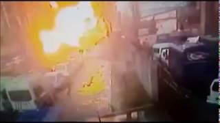 İzmir Adliyesi terör saldırısı patlama anı görüntüleri