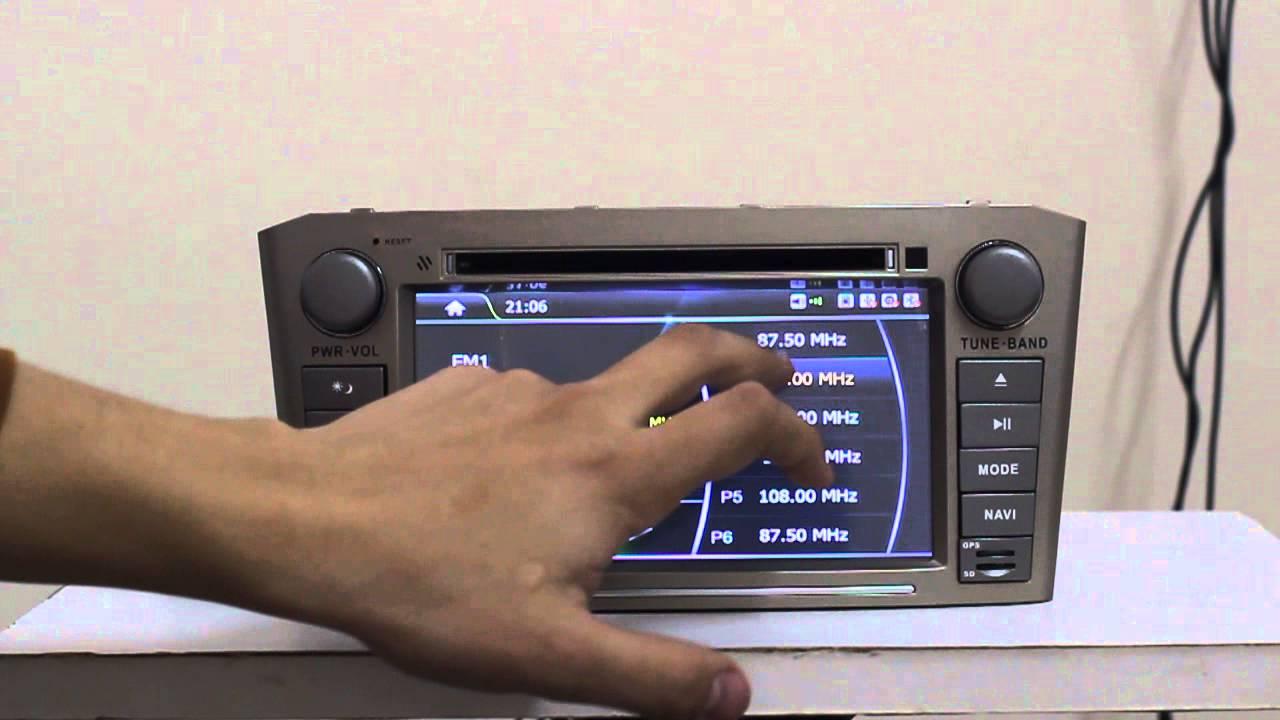 Обзор тест отзыв Toyota avensis 2.0 D-4D - YouTube