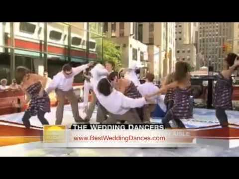 JK Wedding Entrance Dance On Today Show