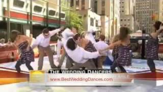 JK Wedding Entrance Dance on Today Show - Live Performance