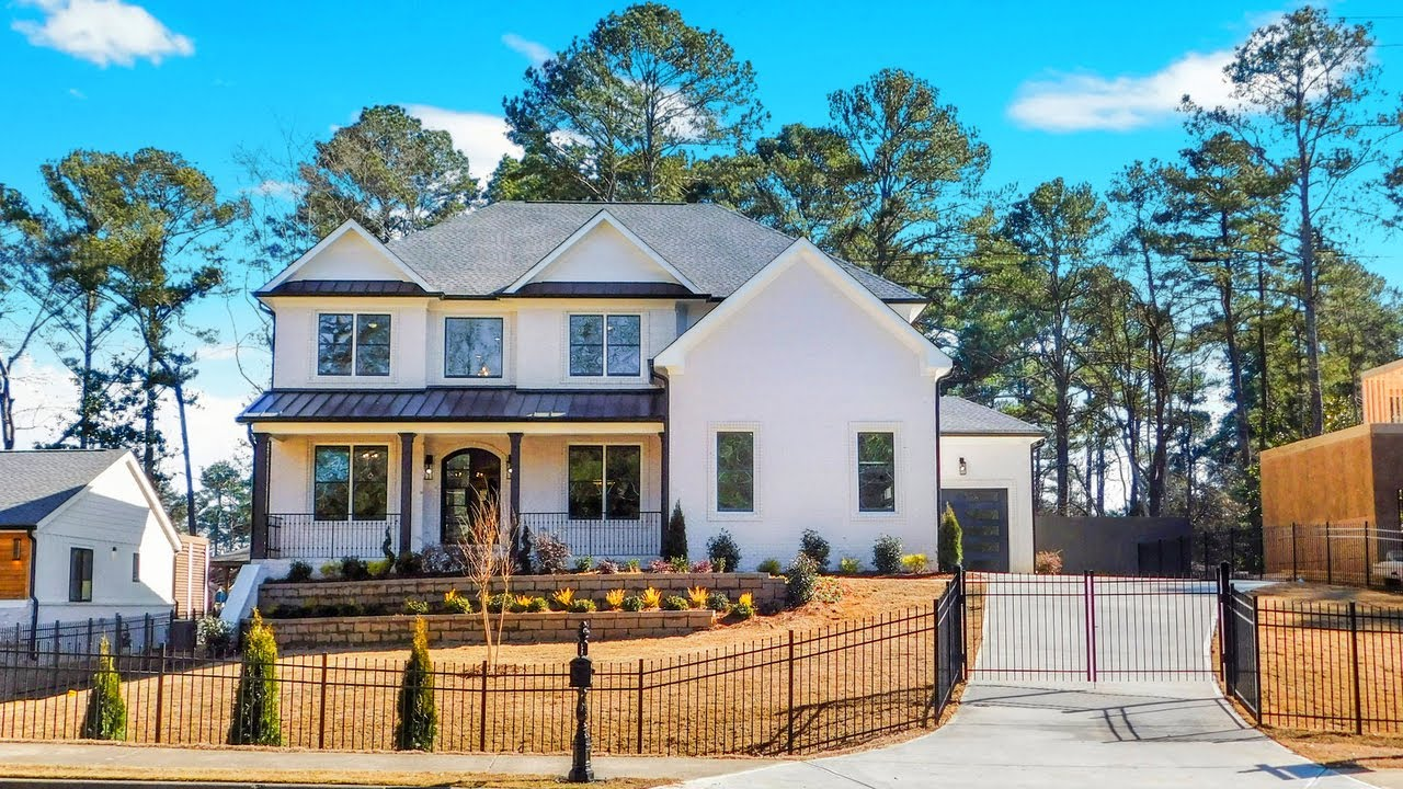 FOR SALE NOW - NEW CUSTOM BUILT 6 BDRM, 5.5 BATH LUXURY HOME NW OF ATLANTA