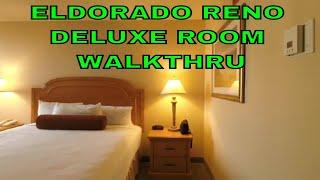ELDORADO RENO DELUXE ROOM WALKTHRU (short) December 2018 (with commentary)