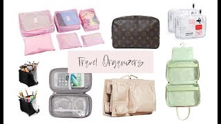 Favorite Travel Organizers (AFFORDABLE)
