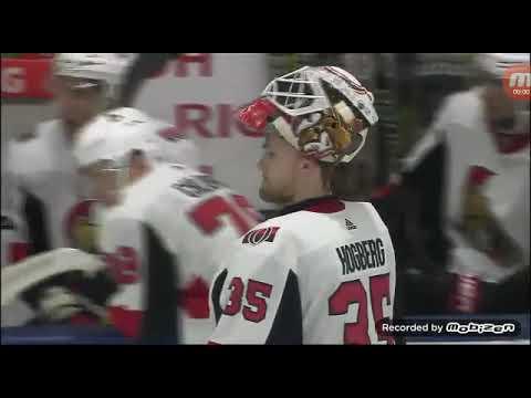 The shootout of the ottawa senators and Toronto Maple Leafs game