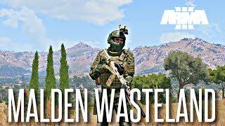 THE NEW WASTELAND! - ArmA 3 Malden Wasteland