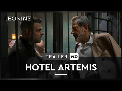 HOTEL ARTEMIS | Trailer | HD | Offiziell
