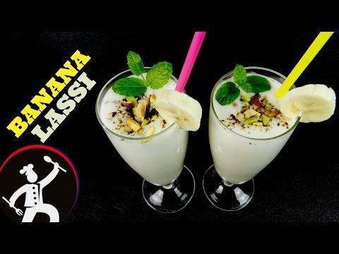 How to make LASSI | Banana Lassi | Healthy Drink | Best Lassi | Yummy Food World 🍴 35